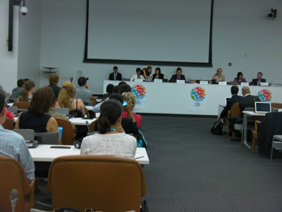 UN Youth Year Passing On Panel - July 27, 2011