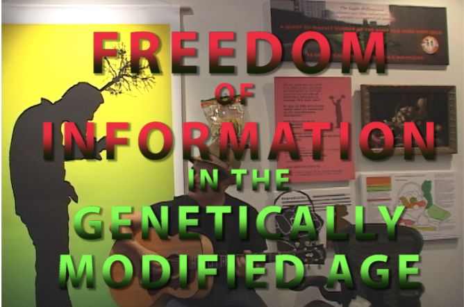 Julie Mardin Open Studio - Freedom of Information in the Genetically Modified Age - Issue#30 Celebration Program