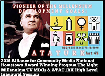 MDGs & ATATÜRK - High Level Inaugural Session - 2015 National Hometown Media Award